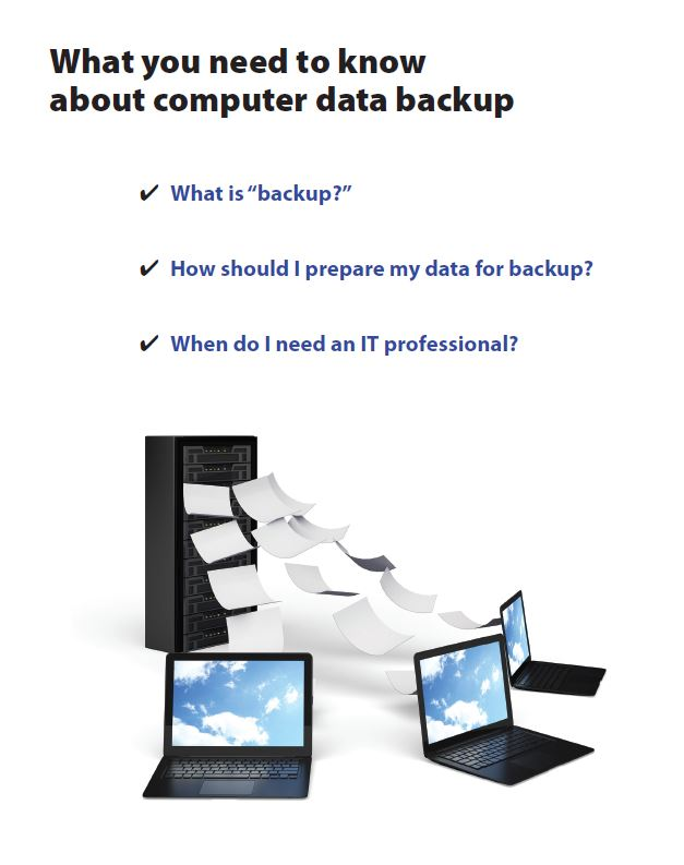 What you need to know about computer data backup